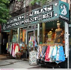 GREENWICH VILLAGE ||||| VINTAGE || STELLA DALLAS | south of Washington Square Park | 218 Thompson Street Btwn 3rd Street and Bleecker