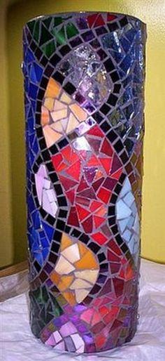 Mosaic vase design I found on internet.