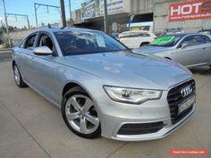 2011 Audi A6 4G Silver 7 Sports Automatic Dual Clutch Sedan #audi #a6 #forsale #australia
