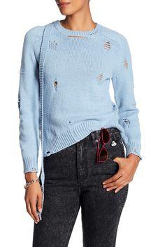 Wool & Cashmere Blend Long Sleeve Sweater