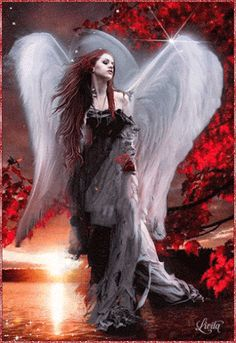 The perfect Angel Darker LargeWings Animated GIF for your conversation. Discover and Share the best GIFs on Tenor. Dark Fantasy Art, Fantasy Kunst, Lady Fantasy, Angel Images, Angel Pictures, Gothic Angel, Gothic Art, Angel Gif, Guerrero Dragon
