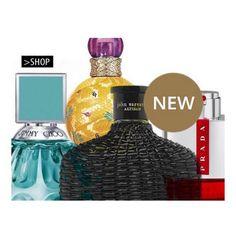 N Y E D U F T E | Et lille udpluk af nye dufte, find flere nyheder og tilbud i shoppen www.BilligParfume.dk ❤️ #nyheder #parfume #jimmychoo #johnvarvatos #prada #lunarossaredsport #britneyspears #fantasystageedition #billigparfumedk