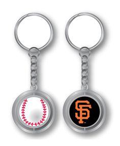 Aminco San Francisco Giants Spinning Baseball Key Ring