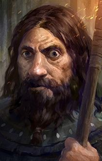 Pillars of Eternity - Durance Fantasy Male, Fantasy Rpg, Medieval Fantasy, Fantasy Portraits, Character Portraits, Character Art, Dnd Characters, Fantasy Characters, Rpg Pathfinder