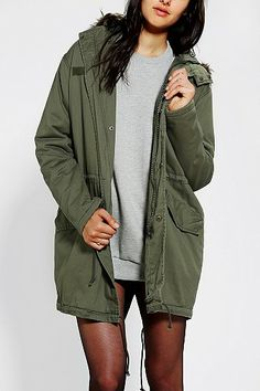 Colors are what matter here- green , grey, Marroon, riding boots Milan Fashion Weeks, New York Fashion, Urban Outfitters, Bad Gal, Sweater Weather, Swagg, Fall Outfits, Casual Outfits, Canada Goose