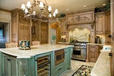 Two tone kitchen traditional kitchen