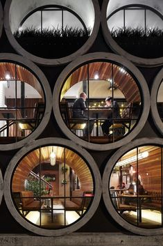"""Take a look at renewed Prahan Hotel in Melbourne, Australia. Techné Architects made a design y adding an extension that uses oversized concrete pipes. """"The Prahan Hotel is Architecture Design, Beautiful Architecture, Melbourne Architecture, Hotel Architecture, Australian Architecture, Installation Architecture, Landscape Architecture, Module Architecture, Landscape Design"""