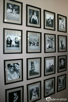 1000 images about wall of frames on pinterest wall of frames photo walls and frames. Black Bedroom Furniture Sets. Home Design Ideas