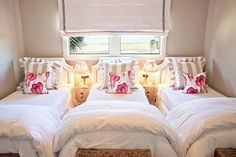 Shared Girls Bedroom - Design photos, ideas and inspiration. Amazing gallery of interior design and decorating ideas of Shared Girls Bedroom in bedrooms, girl's rooms by elite interior designers. Small Room Bedroom, Small Rooms, Bedroom Ideas, Bedroom Photos, Kids Rooms, Trendy Bedroom, Small Beds, Upstairs Bedroom, Spare Room