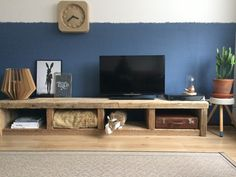 Diy tv stand, tv cabinets, living room decor, living room interior, home Tv Furniture, Living Room Furniture, Furniture Design, Furniture Companies, Home Living Room, Living Room Decor, Muebles Living, Rustic Home Design, Upcycled Home Decor