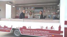 Bruno Ficheux, Anaïs Verdru, chargée de communication et Lucy Cardon, chargée de mission, ont présenté le bilan de l'office de tourisme itinérant.