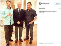 serido noticias: Michel Temer se encontra com Silvio Santos em Salã...