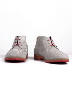 Hemsted & Sons ★ Herrenschuhe grau/orange