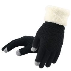Cute Black Ladies Summer Furry Half Finger Gloves Mittens Lot Bulk