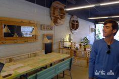 L`Estoc: Muebles reciclados en Barcelona