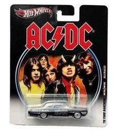 """Hot Wheels 2012, AC/DC '72 Ford Ranchero """"Back In Black. 1:64 Scale. by Mattel. $14.98. 1:64 Scale die cast. Real Riders. Metal/Metal. For the ADULT collector. '72 Ford Ranchero"""