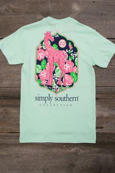 Giraffe Tee   Simply Southern