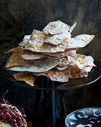 Homemade Wheat Crackers Recipe - delicious with homemade Hot Pepper Jelly and goat cheese