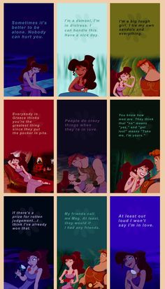 Favorite disney princess of all. Even though she isn't considered a princess. She's the wife of a god