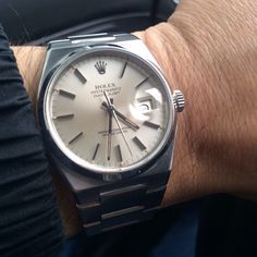 Rare Rolex Oysterquartz. The Only one ever made by the crown