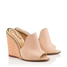 Dress from the feet up! This is what I've got my eye on from Charlotte Olympia eu size) Designer Sandals, Charlotte Olympia, Women's Accessories, Wedges, Eye, Dress, Bags, Shopping, Shoes