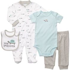 3675e6174 ... baby, toddler, & kids clothing. See more. Carter's® 4-pc. Turtle  Layette Set - Boys newborn-9m - jcpenney