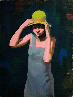 Franz Lerch: Mädchen mit Hut, 1929 © Belvedere, Wien