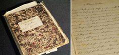Handgeschriebenes Kochbuch