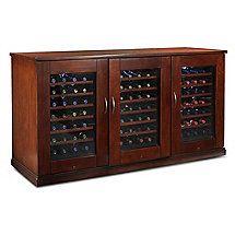 Wine cellar/hutch combo loving this.