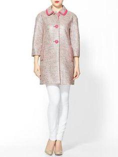 ShopStyle: Kate Spade New York Pierce Tweed Coat
