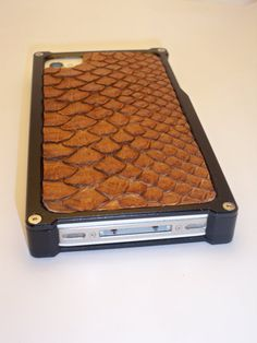 Leather Custom Made Backs for  Iphone Case by Exotici on Etsy, $175.00