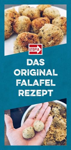 Falafel Rezept: Falafel mit Kichererbsenmehl im Ofen oder Backofen einfach selbe… Falafel Recipe: Simply make falafel with chickpea flour in the oven or oven yourself. With the original recipe, you can make homemade falafel guaranteed. Healthy Eating Tips, Eating Habits, Healthy Recipes, Falafels, Tortellini, How To Make Falafel, Lunch Boxe, Vegetable Drinks, Nutritional Supplements