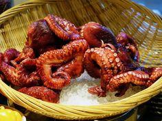 Gastronomia grega_frutos do mar_Viajando bem e barato