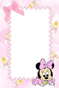 Nicole Vi invita a festeggiare Il suo battesimo Clipart Baby, Tarjetas Baby Shower Niña, Miki Mouse, Kindergarten Coloring Pages, Disney Babys, Minnie Mouse Baby Shower, Baby Posters, Baby Frame, Baby Clip Art