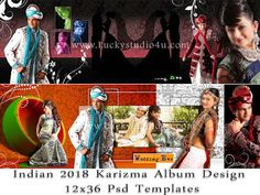 Indian 2018 Karizma Album Design 12x36 Psd Templates Wedding Album Layout, Wedding Album Design, Wedding Photo Albums, Photoshop Plugins, Free Photoshop, Indian Engagement Photos, Psd Templates, Design Templates, Photo Editing