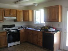 kitchen remodeling on a budget   ... beautiful-: Kitchen Remodel: Big Results on a Not So Big Budget