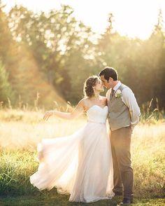 Poulsbo WA Seattle bride wedding. Stunning Bride in bhldn dress by Seattle Wedding Photographer Fyrelite Photography