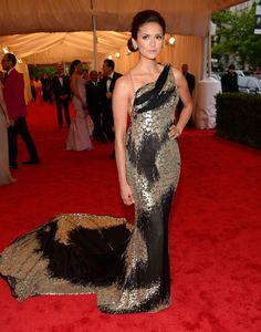Nina Dobrev in Donna Karan  this dress kills; best of the 2012 Met Gala!