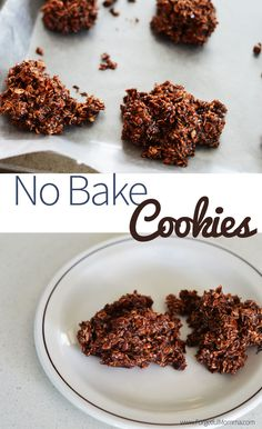 Poop Cookies - No Bake Cookies Recipe