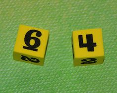 """""""Which is Bigger?"""" -- a super simple math dice game"""