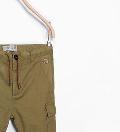 ZARA - ENFANTS - Pantalon style cargo