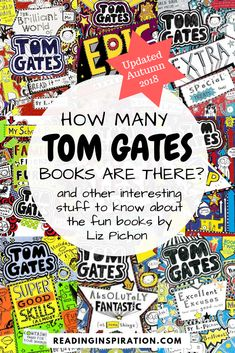 How many Tom Gates books are there? Updated with a new Tom Gates book by Liz Pichon coming out in October Tom Gates: What Monster: Book 15 is coming soon. Great news for kids who love Tom Gates and funny books! New Books, Good Books, Books To Read, Toddler Books, Childrens Books, Tom Gates, World Book Day Ideas, Funny Books For Kids, World Book Day Costumes