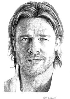 Brad Pitt, pencil portrait #bradpitt #actor #celebrity #pencil #portrait #drawing #yanawolanski