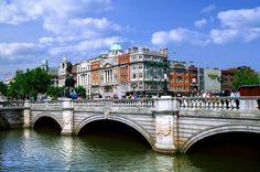 Conheça as cinco pontes mais famosas de Dublin
