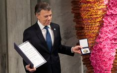 Colombian President Accepts 2016 Nobel Peace Prize for Truce With Farc Rebels