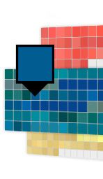 Sherwin Williams has good visualizer to choose paint scheme