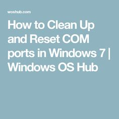 how to clean up computer windows 7