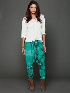 Free People Tie Dye Harem Pants, $148.00
