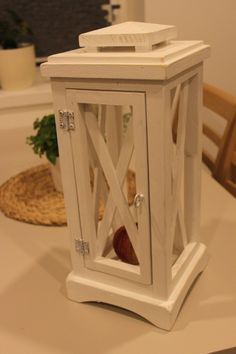 handmade wooden lantern by WoodlineCrafts on Etsy
