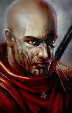 Human Monk - Pathfinder PFRPG DND D&D d20 fantasy